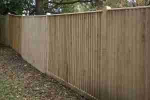 close-board-fence-installation