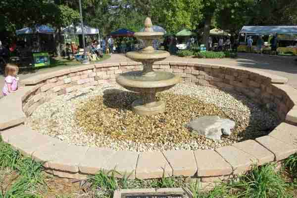 water fountain installation